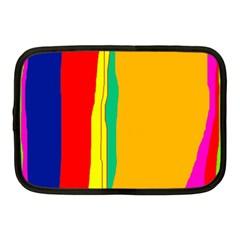 Colorful lines Netbook Case (Medium)