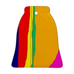 Colorful lines Ornament (Bell)