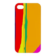 Colorful lines Apple iPhone 4/4S Hardshell Case