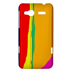 Colorful lines HTC Radar Hardshell Case
