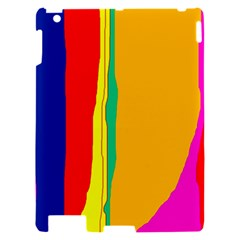 Colorful lines Apple iPad 2 Hardshell Case