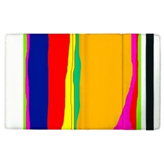 Colorful lines Apple iPad 2 Flip Case