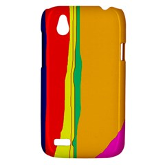 Colorful lines HTC Desire V (T328W) Hardshell Case