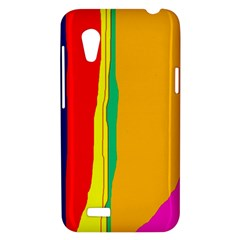 Colorful lines HTC Desire VT (T328T) Hardshell Case