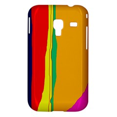 Colorful lines Samsung Galaxy Ace Plus S7500 Hardshell Case
