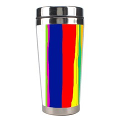 Colorful lines Stainless Steel Travel Tumblers