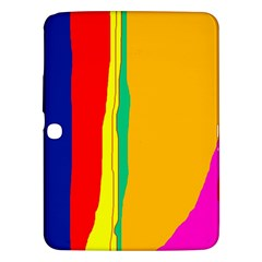 Colorful lines Samsung Galaxy Tab 3 (10.1 ) P5200 Hardshell Case