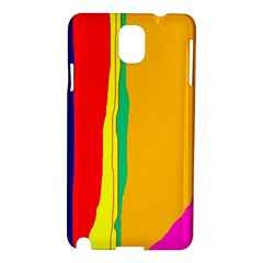 Colorful lines Samsung Galaxy Note 3 N9005 Hardshell Case
