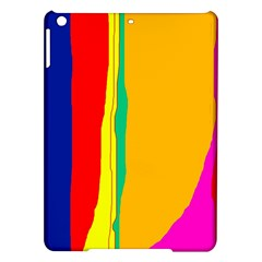 Colorful lines iPad Air Hardshell Cases