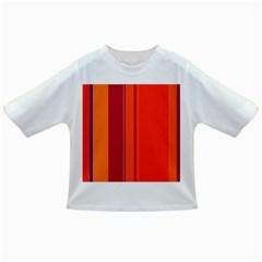 Orange lines Infant/Toddler T-Shirts