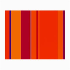 Orange lines Small Glasses Cloth