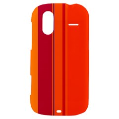 Orange lines HTC Amaze 4G Hardshell Case