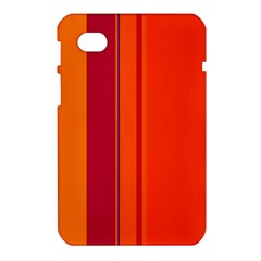 Orange lines Samsung Galaxy Tab 7  P1000 Hardshell Case