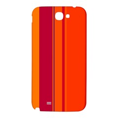 Orange lines Samsung Note 2 N7100 Hardshell Back Case