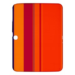 Orange lines Samsung Galaxy Tab 3 (10.1 ) P5200 Hardshell Case