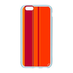 Orange lines Apple Seamless iPhone 6/6S Case (Color)