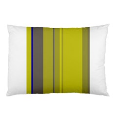 Green elegant lines Pillow Case (Two Sides)