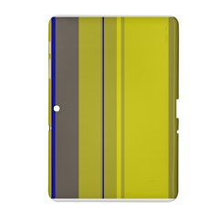 Green elegant lines Samsung Galaxy Tab 2 (10.1 ) P5100 Hardshell Case