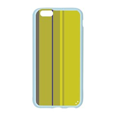 Green elegant lines Apple Seamless iPhone 6/6S Case (Color)
