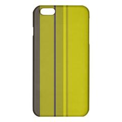 Green elegant lines iPhone 6 Plus/6S Plus TPU Case