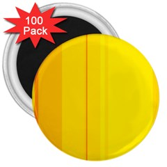 Yellow lines 3  Magnets (100 pack)