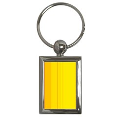 Yellow lines Key Chains (Rectangle)