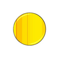 Yellow lines Hat Clip Ball Marker