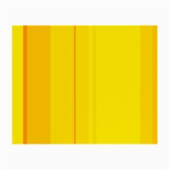 Yellow lines Small Glasses Cloth