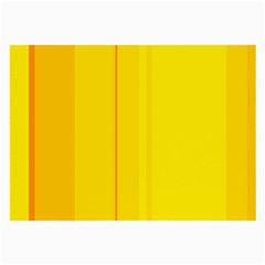 Yellow lines Large Glasses Cloth (2-Side)