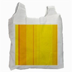 Yellow lines Recycle Bag (One Side)