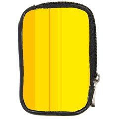 Yellow lines Compact Camera Cases