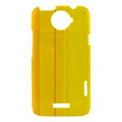 Yellow lines HTC One X Hardshell Case