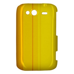 Yellow lines HTC Wildfire S A510e Hardshell Case