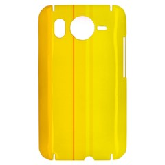 Yellow lines HTC Desire HD Hardshell Case