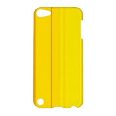 Yellow lines Apple iPod Touch 5 Hardshell Case