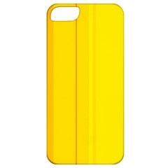 Yellow lines Apple iPhone 5 Classic Hardshell Case