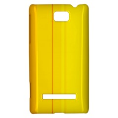 Yellow lines HTC 8S Hardshell Case