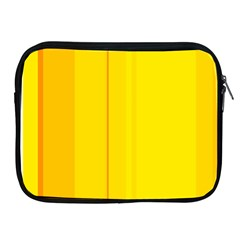 Yellow lines Apple iPad 2/3/4 Zipper Cases