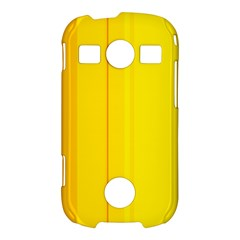 Yellow lines Samsung Galaxy S7710 Xcover 2 Hardshell Case