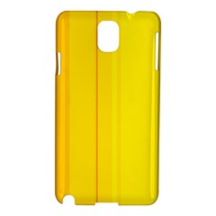 Yellow lines Samsung Galaxy Note 3 N9005 Hardshell Case