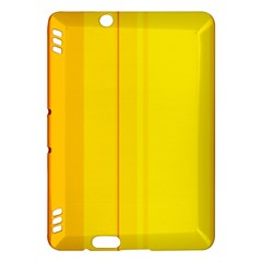 Yellow lines Kindle Fire HDX Hardshell Case