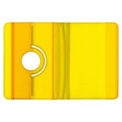 Yellow lines Kindle Fire HDX Flip 360 Case