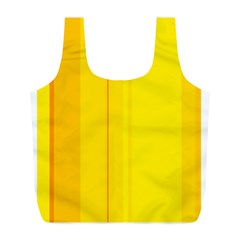 Yellow lines Full Print Recycle Bags (L)