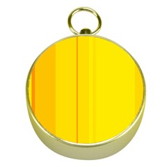 Yellow lines Gold Compasses