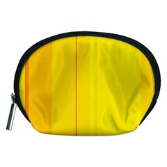Yellow lines Accessory Pouches (Medium)