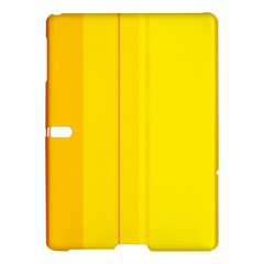 Yellow lines Samsung Galaxy Tab S (10.5 ) Hardshell Case