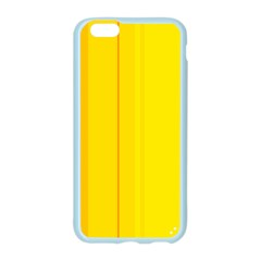 Yellow lines Apple Seamless iPhone 6/6S Case (Color)