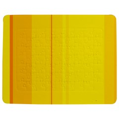 Yellow Lines Jigsaw Puzzle Photo Stand (rectangular)