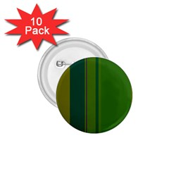 Green elegant lines 1.75  Buttons (10 pack)