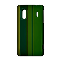 Green elegant lines HTC Evo Design 4G/ Hero S Hardshell Case